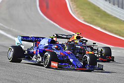 November 3, 2019, Austin, United States of America: Motorsports: FIA Formula One World Championship 2019, Grand Prix of United States, ..#10 Pierre Gasly (FRA, Red Bull Toro Rosso Honda), #23 Alexander Albon (THA, Aston Martin Red Bull Racing) (Credit Image: © Hoch Zwei via ZUMA Wire)