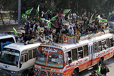 JAN 13 2013 Lahore to Islamabad electoral reforms march