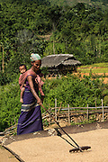 Adi Gallong woman<br /> Adi Gallong Tribe<br /> Arunachal Pradesh<br /> North East India