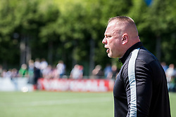 NEWTOWN, WALES - Sunday, May 6, 2018: Connahs Quay Nomads manager Andy Morrison during the FAW Welsh Cup Final between Aberystwyth Town and Connahs Quay Nomads at Latham Park. (Pic by Paul Greenwood/Propaganda)