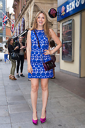 Odeon West End, London, June 16th 2014. TV personality Olivia Lee arrives at the Odeon West End in Leicester Square, London, for the gala Screening of Clint Eastwood's big screen version of the Tony Award winning musical Jersey Boys.