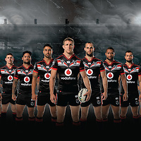 Vodafone Warriors 2016.<br />