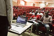 CESAG (Centre Africain d'Etudes Supérieures en Gestion), Dakar, Senegal on Thursday October 20, 2011.