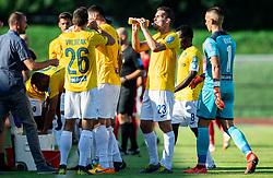 Luka Žinko of Bravo during football match between NK Bravo and NK Aluminij in 5th Round of Prva liga Telekom Slovenije 2019/20, on August 9, 2019 in Sports park ZAK, Ljubljana, Slovenia. Photo by Vid Ponikvar / Sportida