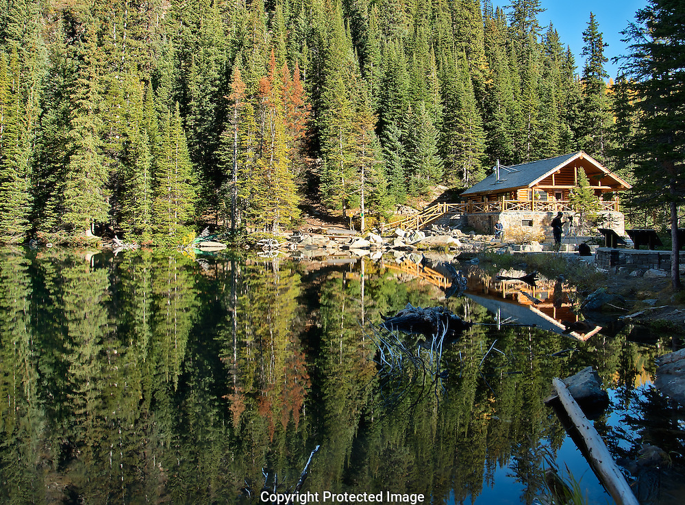 Lake Agnes., Alberta, Canada, Isobel Springett