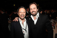Alfie Boe and manager Neil Ferris