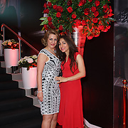 London,England,UK : 25th May 2016 : Leila Motlagh,Atena Rezaei attend the Marilyn Monroe: Legacy of a Legend launch at the Design Centre, Chelsea Harbour, London. Photo by See Li