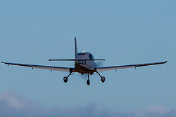 Cirrus SR22 (N536CP) on approach to Palo Alto Airport (KPAO), Palo Alto, California, United States of America
