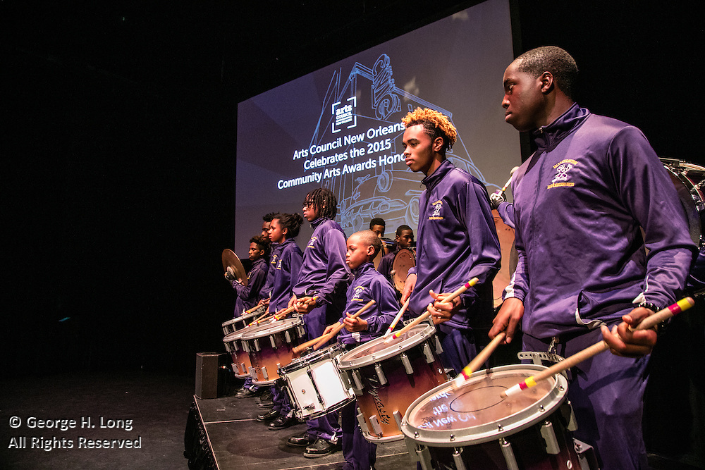 Arts Council New Orleans Community Arts Awards Celebration at the Civic Theatre December 2, 2015