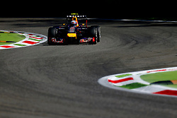 06.09.2014, Autodromo di Monza, Monza, ITA, FIA, Formel 1, Grand Prix von Italien, Qualifying, im Bild 06.09.2014, Autodromo di Monza, Monza, ITA, FIA, Formel 1, Grand Prix von Italien, Qualifying, im Bild Daniel Ricciardo (AUS) Red Bull Racing RB10 // during the Qualifying of Italian Formula One Grand Prix at the Autodromo di Monza in Monza, Italy on 2014/09/06. EXPA Pictures © 2014, PhotoCredit: EXPA/ Sutton Images/ Martini<br /> <br /> *****ATTENTION - for AUT, SLO, CRO, SRB, BIH, MAZ only*****