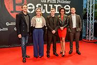 Ouverture du 10e festival du film policier a Beaune<br /> Chad Chenouga, Catherine Frot, Lucas Belvaux, Audrey Pulvar, Malik Zidi