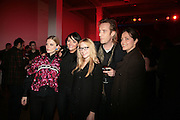Emilia Fox, Martine McCutcheon, Natalie Press,  Rhys Ifans and Greta Scacchi,  Whitechapel and Hogan present Art Pls Drama Party 2007. Whitechapel Gallery. London. 8 March 2007. -DO NOT ARCHIVE-© Copyright Photograph by Dafydd Jones. 248 Clapham Rd. London SW9 0PZ. Tel 0207 820 0771. www.dafjones.com.