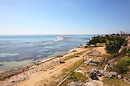 The shoreline in Cabot Cruz, Granma, Cuba.