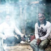 Putany et Pu Yawanawas apprentis chamans.