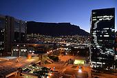 Cape Town CBD at night