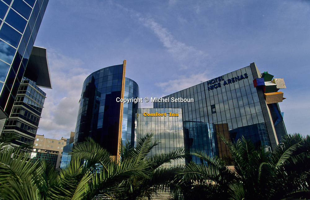 France. Nice. The  - Arenas -   new business area      / L Arenas Quartier des affaires  Nice  france   / R00115/    L1734  /  P102887