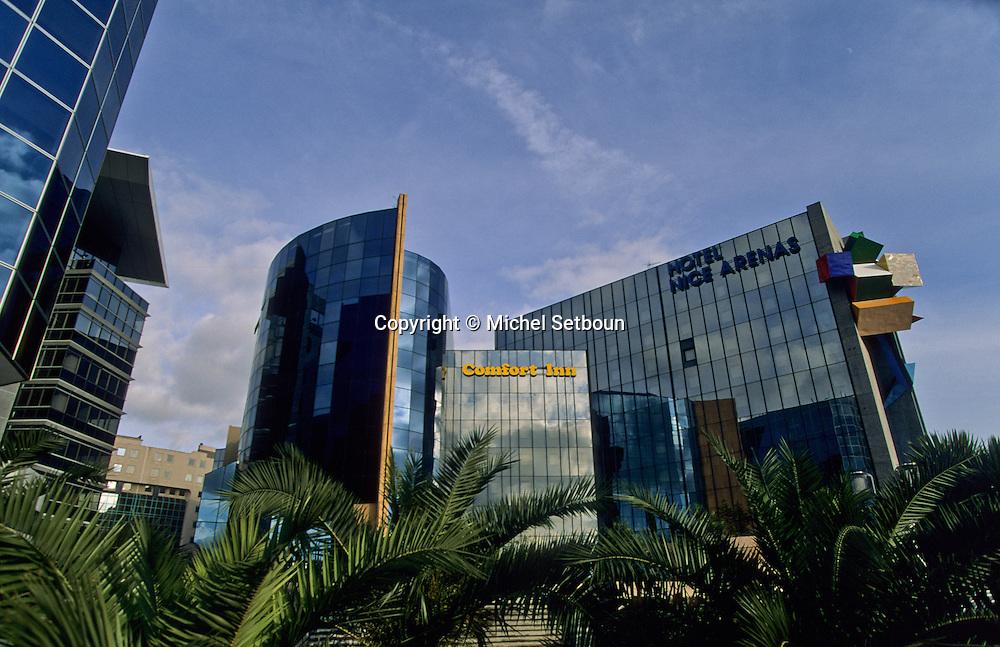 France. Nice. The  - Arenas -   new business area      / L Arenas Quartier des affaires  Nice  france   / R00115/    L1734  /  P102887