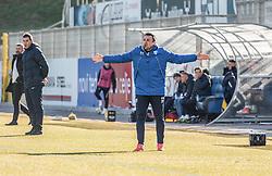 Nermin Bašić of ND Goricaduring football match between NK Celje and ND Gorica in Round #20 of Prva liga Telekom Slovenije 2018/19, on February 23, 2019 in Arena Z'dezele  Celje, Slovenia. Photo by Filip Jeram / Sportida