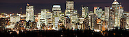 © 2007 Randy Vanderveen, all rights reserved.Calgary, Alberta..Panorama of Calgary's downtown looking west from Sarcee.