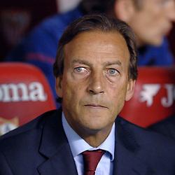 03-03-2007 VOETBAL: SEVILLA FC - BARCELONA: SEVILLA  <br /> Sevilla wint de topper met Barcelona met 2-1 / Ass. coach Johan Neeskens<br /> &copy;2006-WWW.FOTOHOOGENDOORN.NL