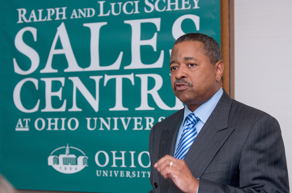 """11/1/2006..Ralph and Luci Schey Sales Centre named at Ohio University.Center named for prominent Cleveland-area residents..ATHENS, Ohio (Nov. 1, 2006) -- Ohio University celebrated today the naming of the Ralph and Luci Schey Sales Centre in the College of Business. The Ohio University Board of Trustees passed a resolution that approved the official naming of the center during its recent meeting. Ralph and Luci Schey are residents of Gates Mills, Ohio...""""The Ralph and Luci Schey Sales Centre is truly a unique program that continues to meet the needs of current and future Ohio University students,"""" Ohio University President Roderick J. McDavis said. """"The skills that students develop at the center are useful in a variety of academic pursuits and careers. Statistics show that up to 65 percent of college graduates' first professional jobs are in sales-related roles.""""..Ralph Schey was a guiding force behind the creation of the center in 1997. He challenged the university to get involved in sales education. """"It is particularly fitting that the center has now been named for those who first inspired us,"""" said College of Business Associate Dean Dawn Deeter-Schmelz...Ralph and Luci Schey have supported their vision with a $2.2 million commitment to support the sales center. The endowment they have funded supports scholarships, operating expenses, nationally known speakers, professional trainers, workshops and sales symposia that allow current students to interact with professionals in the field...Ralph Schey, now retired, was for two decades president and CEO of the $1 billion conglomerate Scott Fetzer Company, a Berkshire Hathaway holding. His wife, Luci Schey, has been a trustee for the Cleveland Orchestra, among other civic groups. The Scheys are emeriti trustees of The Ohio University Foundation Board. Ralph Schey earned his bachelor's of science in commerce from Ohio University in 1948 and received an honorary doctorate from the university in 1987...Larry Schey, an A"""