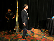 09 JUNE 2019 - CEDAR RAPIDS, IOWA: BETOR O'ROURKE gets ready to speak at the Iowa Democrats 2019 Hall of Fame Celebration in the Cedar Rapids Convention Center. Nineteen of the Democratic candidates for president in 2020 spoke at the annual event. Iowa traditionally hosts the the first election event of the presidential election cycle. The Iowa Caucuses will be on Feb. 3, 2020.                          PHOTO BY JACK KURTZ