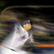 NEW YORK, NEW YORK - APRIL 27:  Pitcher Matt Harvey #33 of the New York Mets pitching during the New York Mets Vs Cincinnati Reds MLB regular season game at Citi Field on April 27, 2016 in New York City. (Photo by Tim Clayton/Corbis via Getty Images)