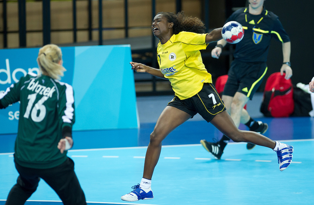 London Handball Cup - Angola vs Austria  -  Carolina Martene Morais (ANG)