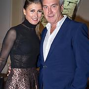 NLD/Amsterdam/20170920 - Mart Visser 20 jaar mode - The Artesia, Euvgenia Parakhina en partner Jeroen Jorna