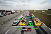 March 17-19, 2016: Mobile 1 12 hours of Sebring 2016. Group photos of cars competing in the 2016 12 hours of Sebring