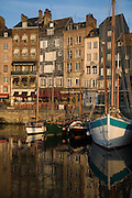 Old Port, Honfleur, Calvados, Normandy, France