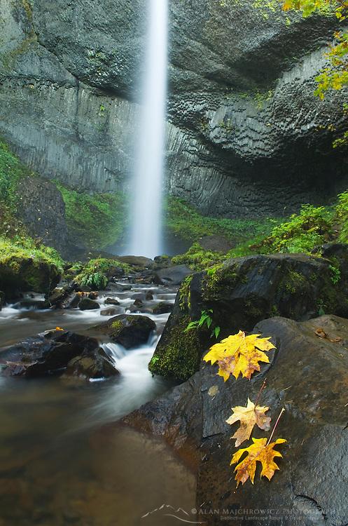 Latourell Falls Columbia River Gorge National Scenic Area Oregon