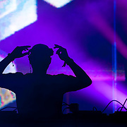 May 17, 2013 - Queens, NY : The DJ Eric Prydz performs during the first day of the 2013 New York 'Electric Daisy Carnival,' an electronic dance music festival, at Citi Field in Queens, on Friday. CREDIT: Karsten Moran for The New York Times CREDIT: Karsten Moran for The New York Times