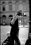 Mark E. Smith of The Fall,Hamburg 1983
