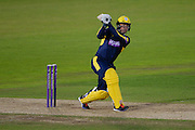 Gareth Andrew of Hampshire batting during the Royal London One Day Cup match between Hampshire County Cricket Club and Somerset County Cricket Club at the Ageas Bowl, Southampton, United Kingdom on 2 August 2016. Photo by David Vokes.