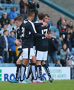 Rory Loy is congratulated by Nick Ross after scoring the winner  - Dundee v Wigan Athletic - pre season friendly at Dens Park<br /> <br />  - &copy; David Young - www.davidyoungphoto.co.uk - email: davidyoungphoto@gmail.com