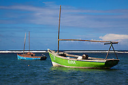 Boats in the Jamal area, Guantanamo, Cuba.