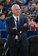 October 08, 2016:Sydney FC coach Graham Arnold at Round 1 of the 2016 Hyundai A-League match, between Western Sydney Wanderers and Sydney FC, played at ANZ Stadium in Sydney. Sydney FC won the game 4-0.