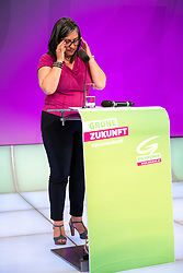 22.06.2019, Studio 44, Wien, AUT, Landesversammlung der Wiener Grüne, Wahl der Landesliste für die Nationalratswahl, im Bild Maria Vassilakoui // during the provincial assembly of the Vienna Greens and Election of the national list for the Nationalratwahl at the Studio 44 in Wien, Austria on 2019/06/22. EXPA Pictures © 2019, PhotoCredit: EXPA/ Johann Groder