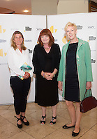 Maura Collins, Trish Forde and Eithne Varley at  the opening night of Galway international Arts Festival 2015 at the Radisson Blu Hotel Galway. Photo:andrew Downes xposure
