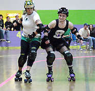 2010 - Gem City Rollergirls vs Columbus Gang Green at Orbit Fun Center
