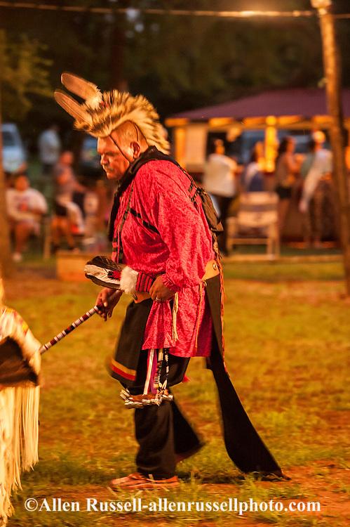 Caddo Indians, Native Americans, Caddo Nation Vice Chairman Philip Smith, J T Morrow Pow Wow, Binger, Oklahoma