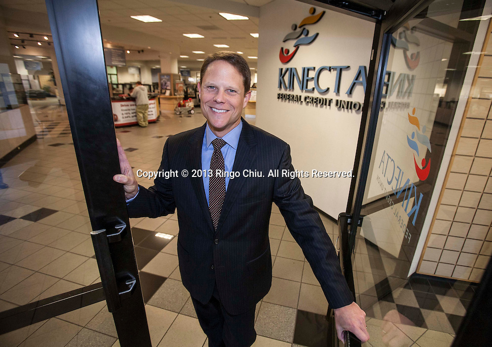 Keith Sultemeier, CEO of Kinect Federal Credit Union in Manhattan Beach. (Photo by Ringo Chiu/PHOTOFORMULA.com)..