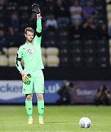 Adam Collin of Notts County prepares to take a free kick during the Sky Bet League 2 match at Meadow Lane, Nottingham<br /> Picture by James Wilson/Focus Images Ltd 07522 978714‬‬<br /> 25/08/2017