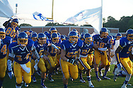 Oxford High takes the field vs. Jackson Prep in Oxford, Miss. on Friday, August 23, 2013. Oxford won 32-20.