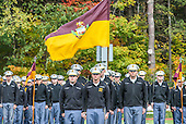 Zeb Coombs leading cadets.
