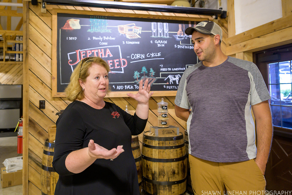 Joyce Nethery, Founder and Master Distiller for Jeptha Creed Distillery