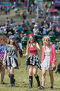 Enjoying the sun in the Arena - The 2016 Latitude Festival, Henham Park, Suffolk.