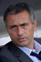 Photo: Daniel Hambury.<br />Fulham v Chelsea. The Barclays Premiership. 23/09/2006.<br />Fulham's manager Jose Mourinho pictured before the match.