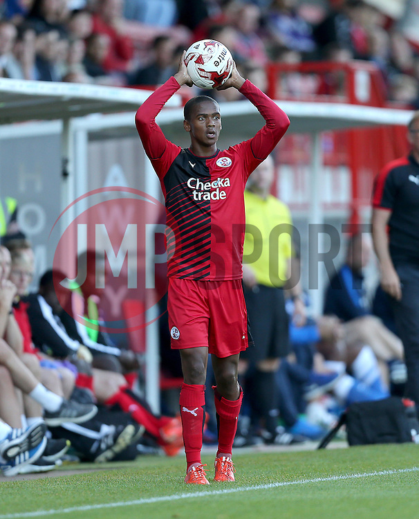 Lewis Young of Crawley Town - Mandatory by-line: Paul Terry/JMP - 22/07/2015 - SPORT - FOOTBALL - Crawley,England - Broadfield Stadium - Crawley Town v Brighton and Hove Albion - Pre-Season Friendly